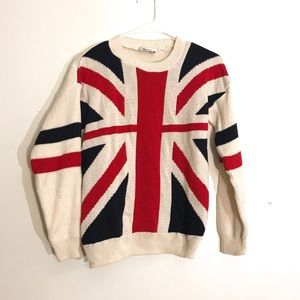 b83c1f2f19bce8 Women s Union Jack Sweater on Poshmark